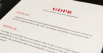 Be one step closer to becoming GDPR compliant